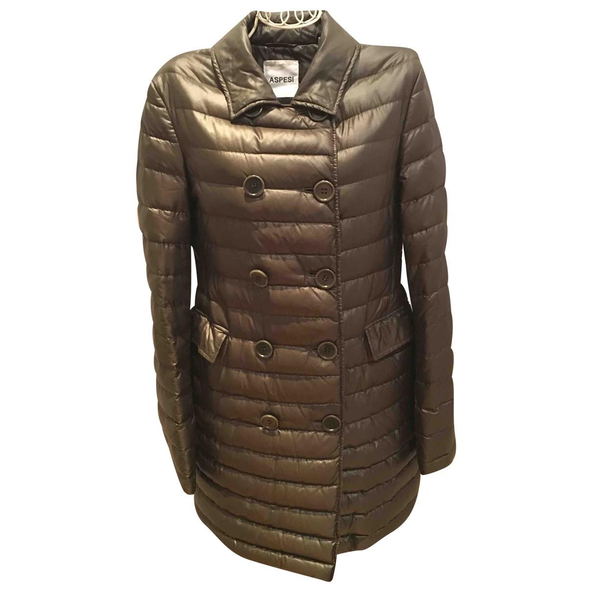 Aspesi \N Brown coat for Women XS International