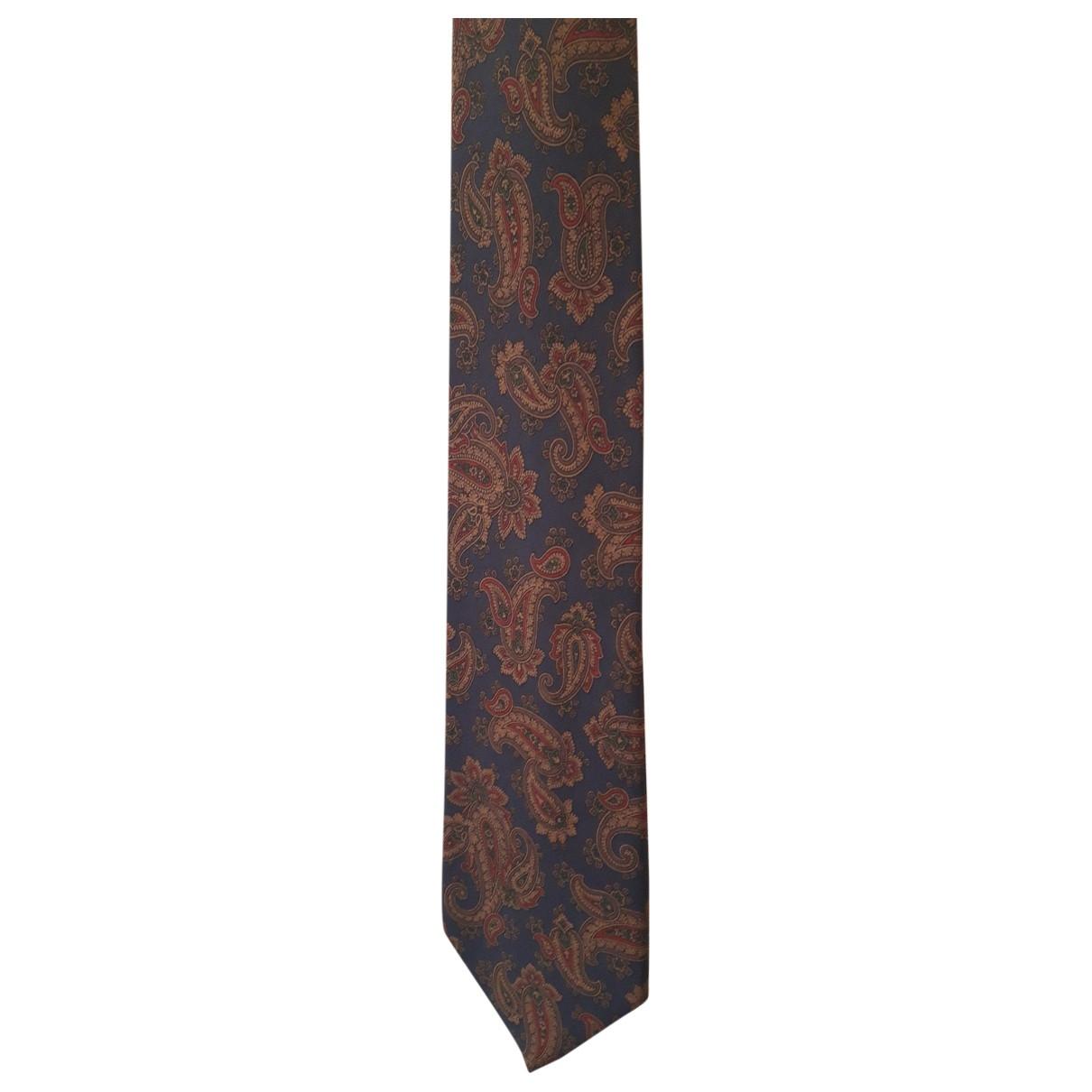 Monsieur Paris \N Krawatten in  Bunt Seide