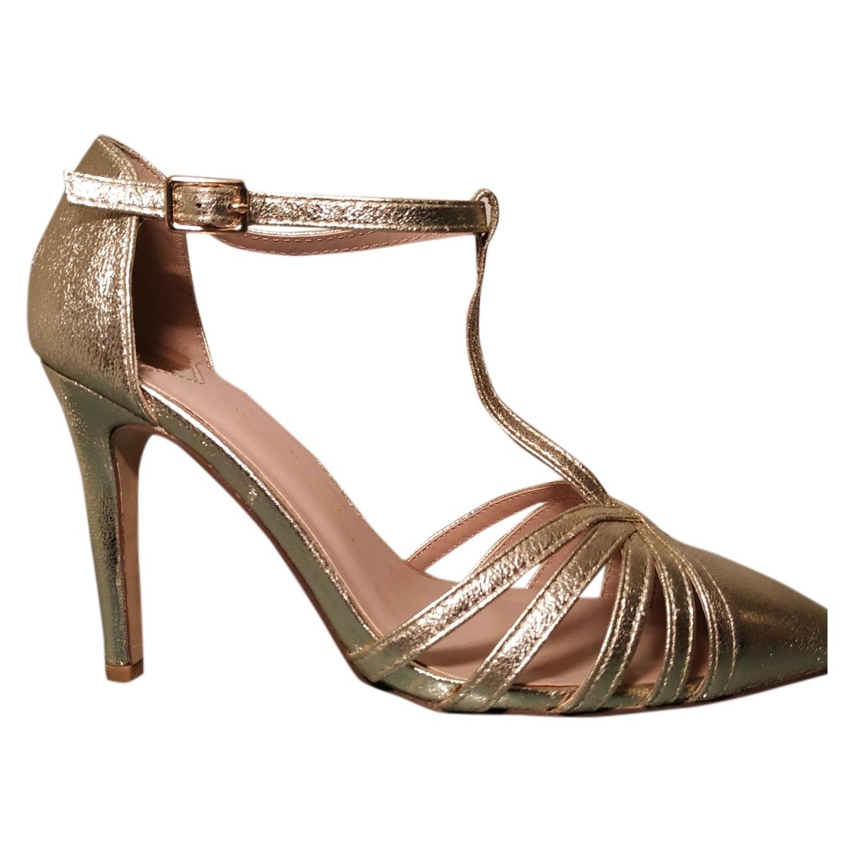 - Sandales   pour femme - dore