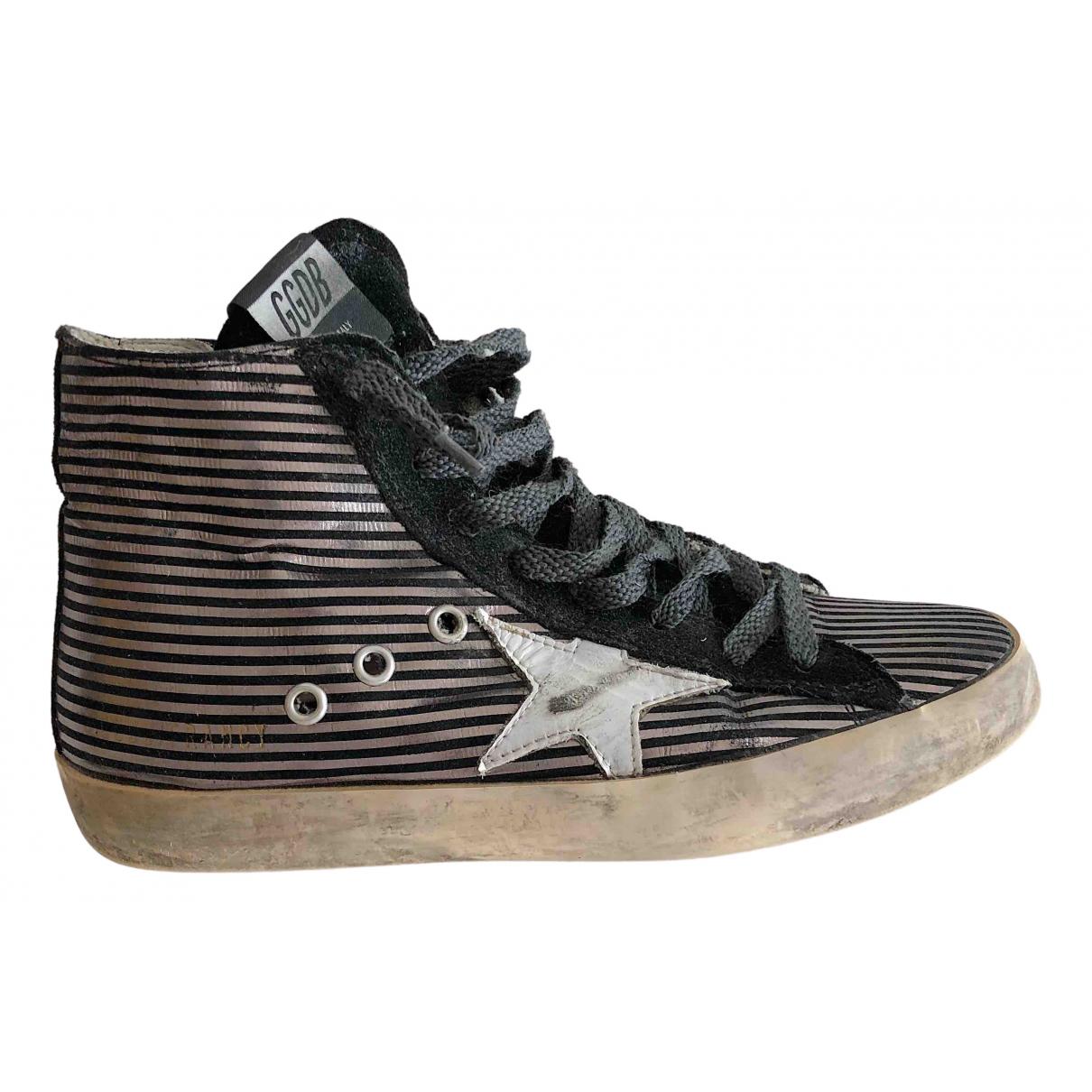 Golden Goose Francy Sneakers in  Schwarz Mit Pailletten