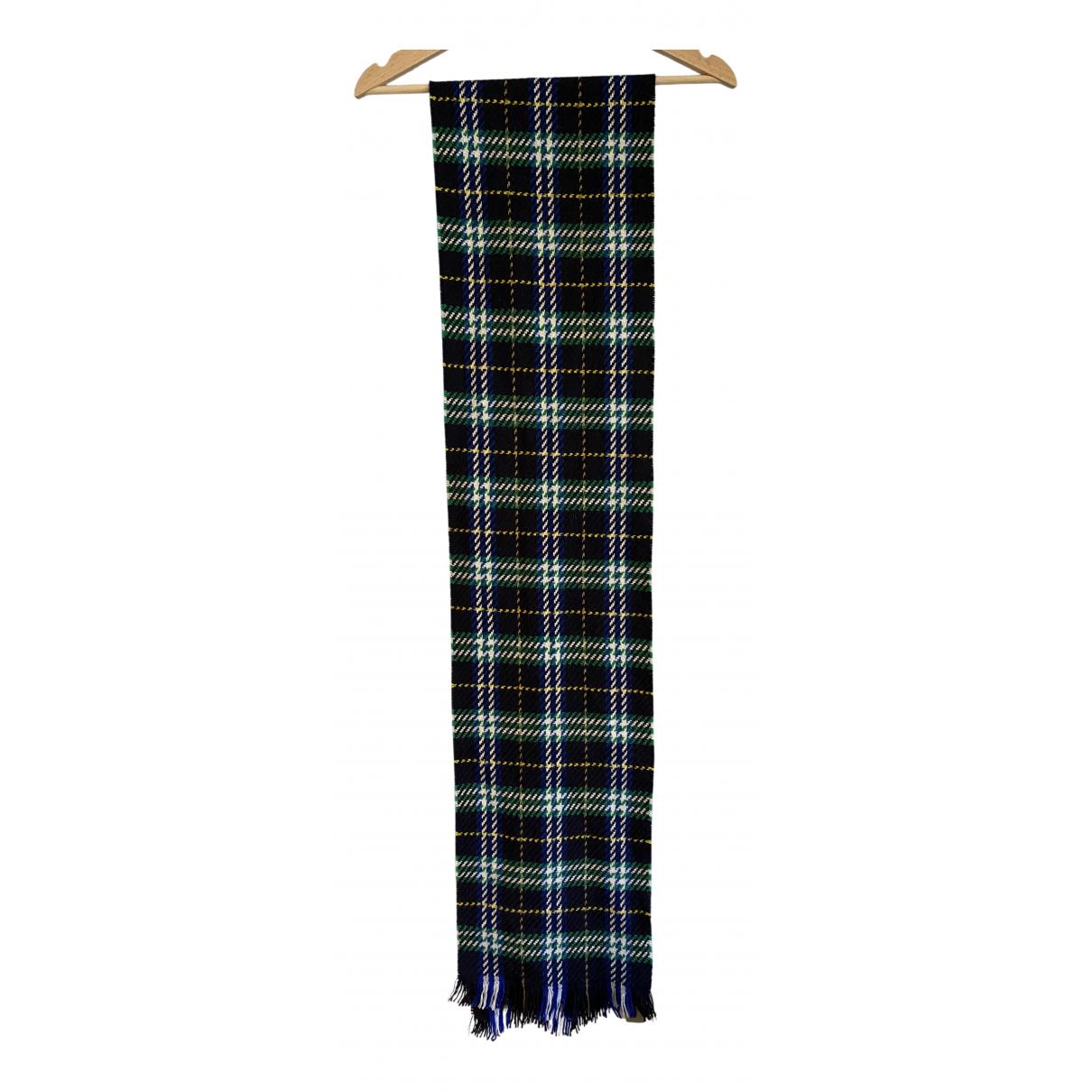 Burberry - Foulard   pour femme en coton - noir