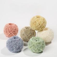 1pc Random Color Fiber Cleaning Ball