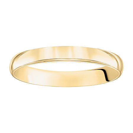 3MM 14K Gold Wedding Band, 9 1/2 , No Color Family