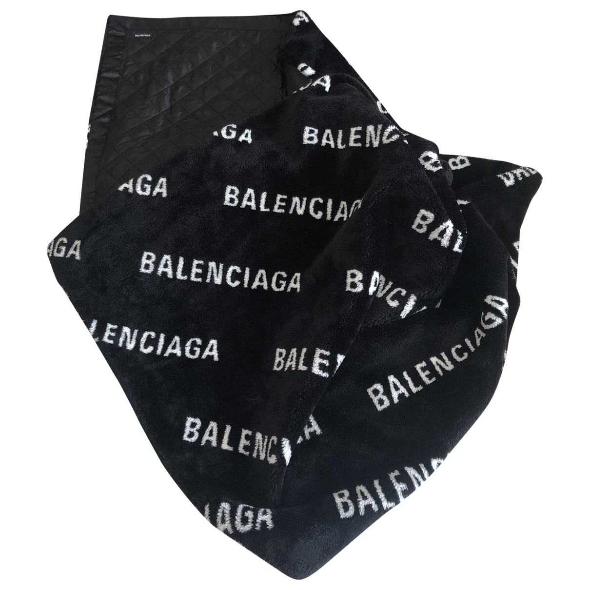 Balenciaga \N Black scarf for Women \N