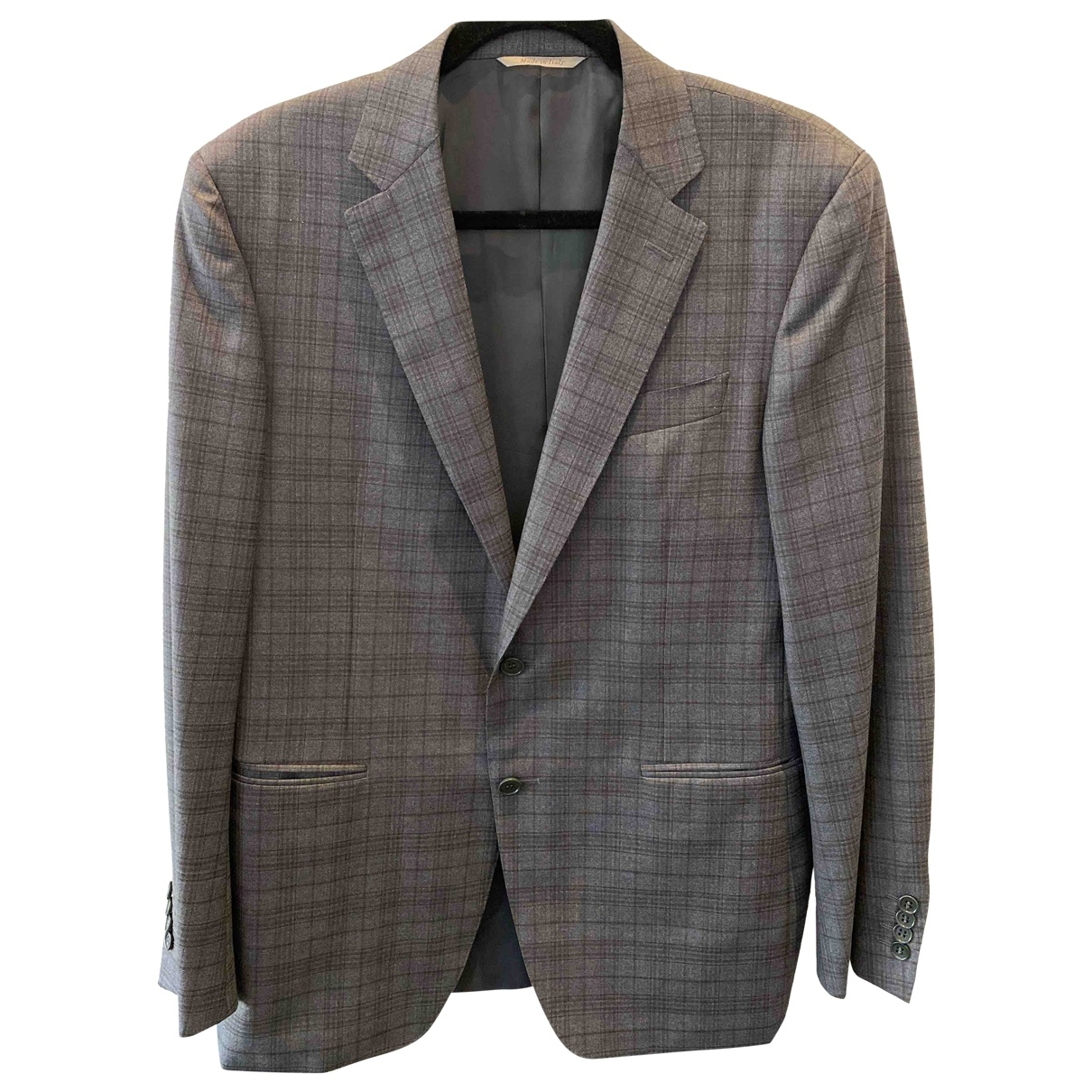 Canali \N Grey Suits for Men 50 IT