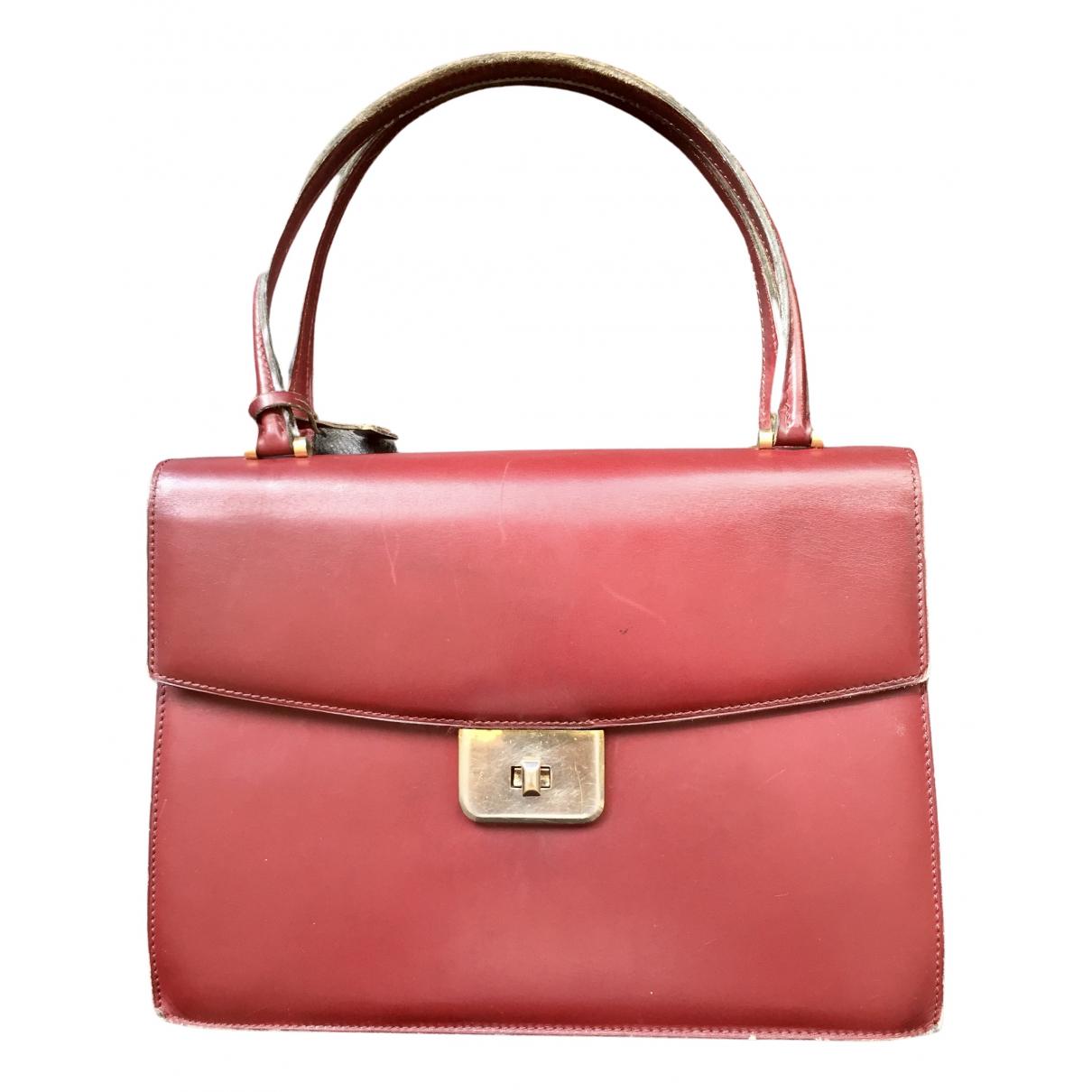 Delvaux N Burgundy Leather handbag for Women N