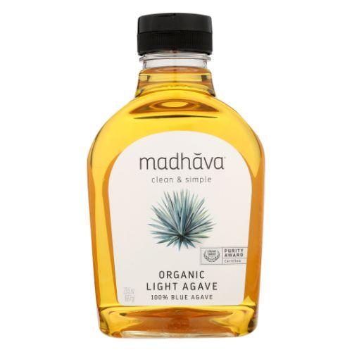 Organic Light Agave 23.5 Oz by Madhava Honey