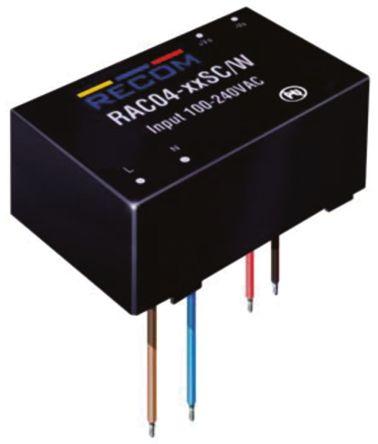Recom , 4W Embedded Switch Mode Power Supply SMPS, 3.3V dc, Encapsulated
