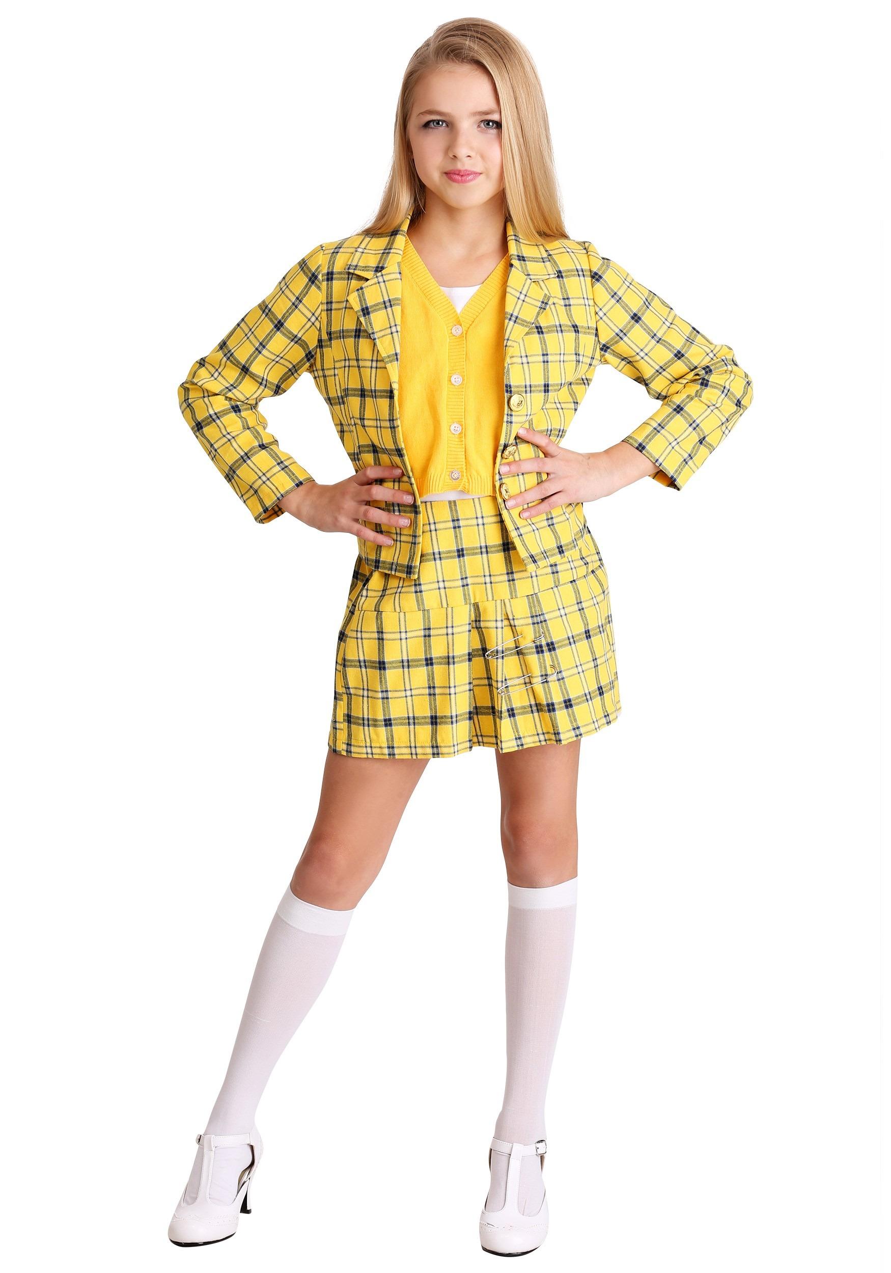 Clueless Cher Girl's Costume