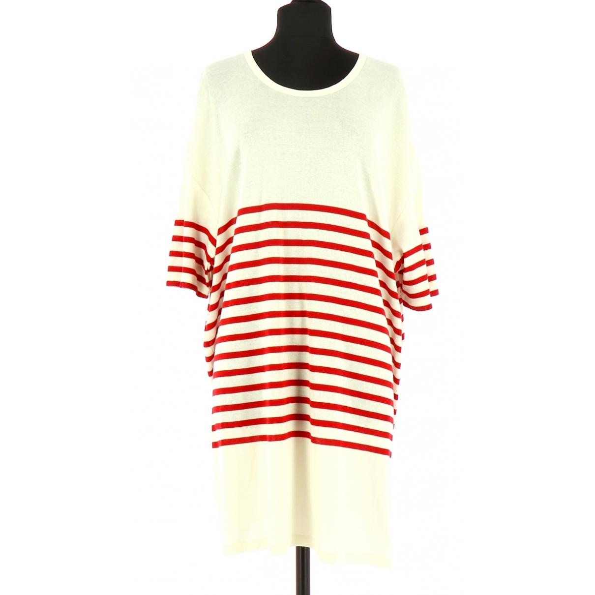 Jean Paul Gaultier \N Kleid in  Gelb Baumwolle