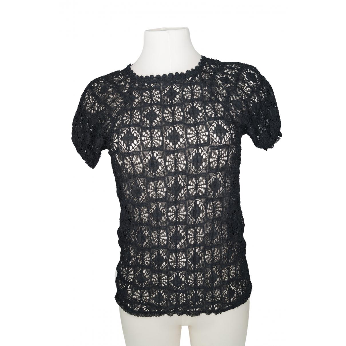 Isabel Marant Etoile \N Black Cotton  top for Women 3 0-5