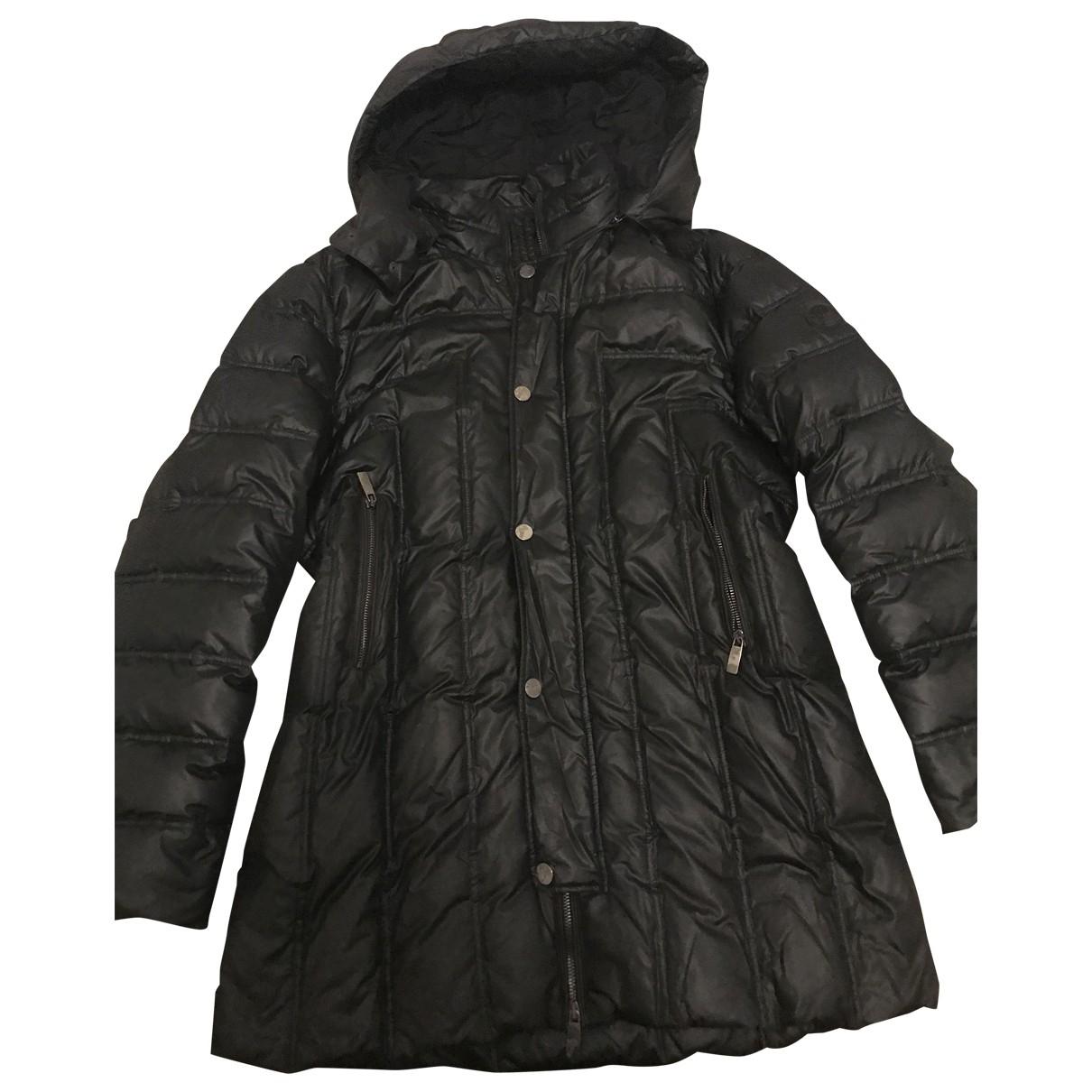 Versace \N Maentel in  Schwarz Polyester