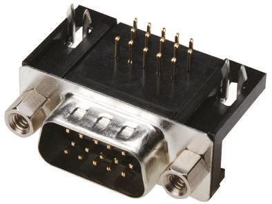 ASSMANN WSW A-HDS Series, 26 Way Right Angle Through Hole PCB D-sub Connector Plug, 2.29mm Pitch