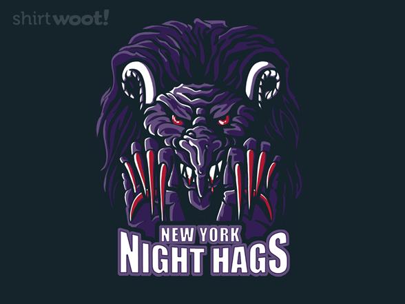 New York Night Hags T Shirt
