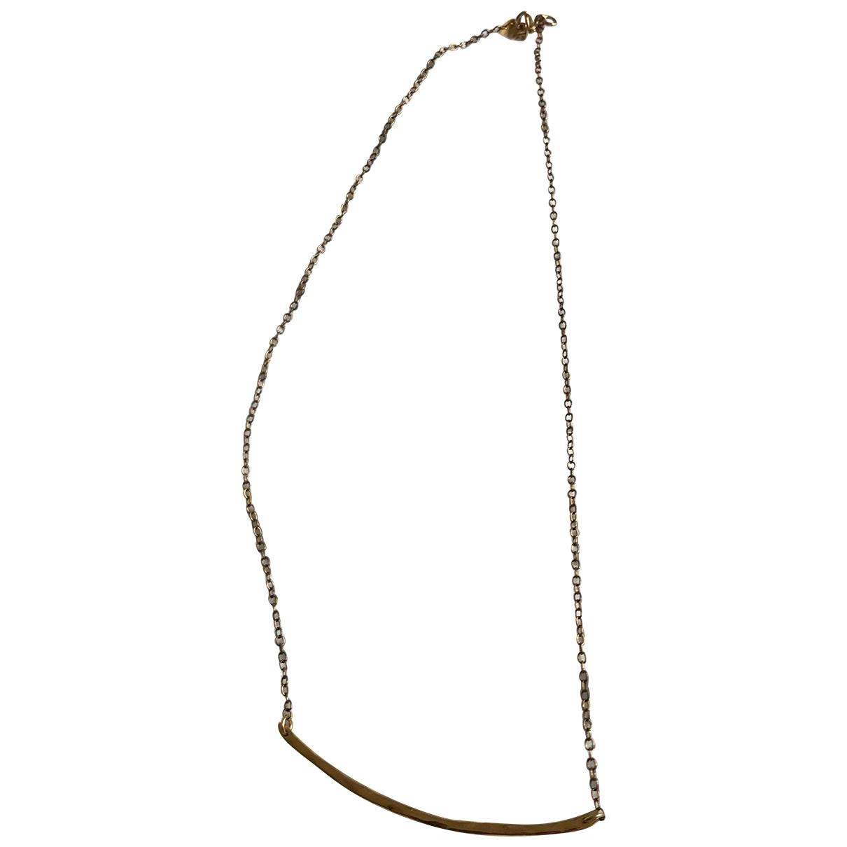 Gorjana - Collier   pour femme en plaque or - dore