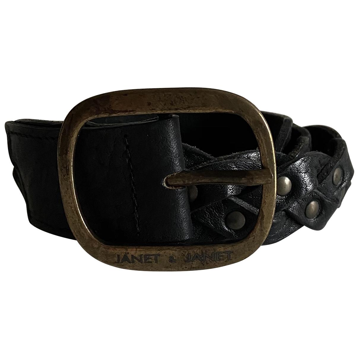 Cinturon de Cuero Janet & Janet