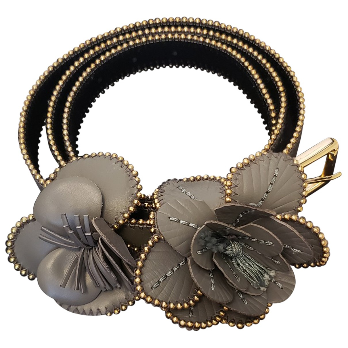 Cinturon de Cuero Anne Fontaine