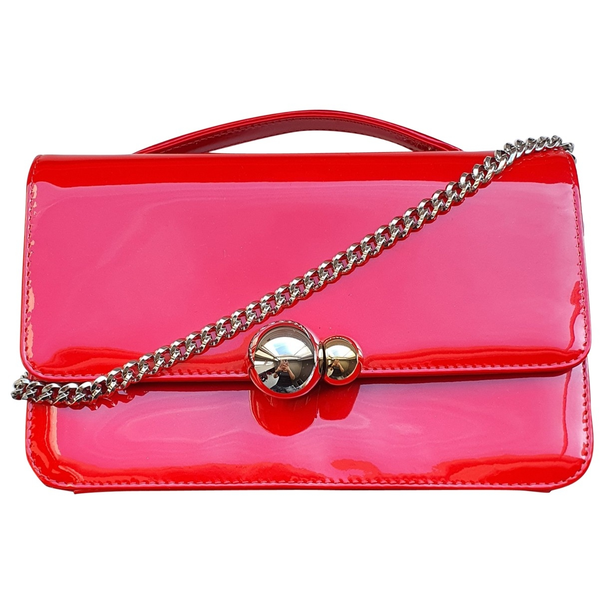 Dior \N Red Patent leather handbag for Women \N