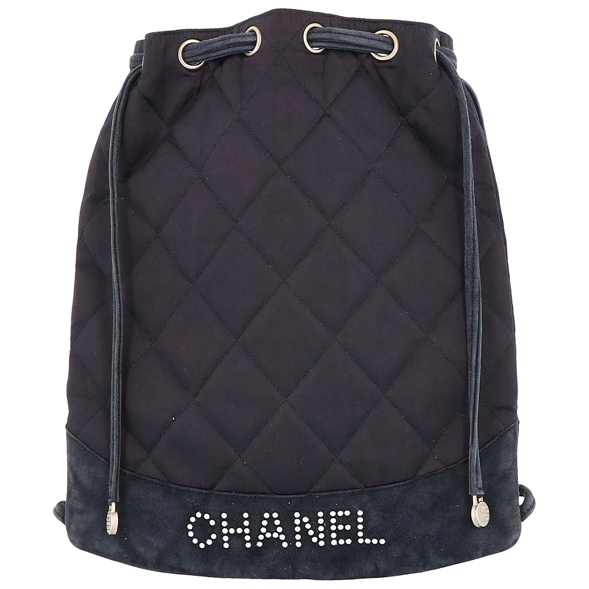Chanel N Black Cloth backpack for Women N