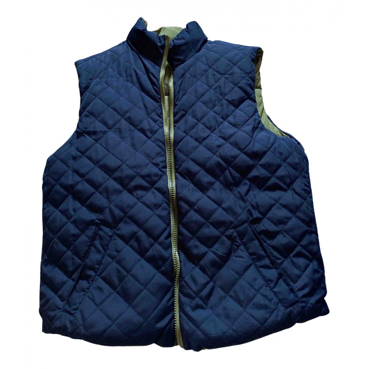 Selected \N Jacke in  Marine Polyester