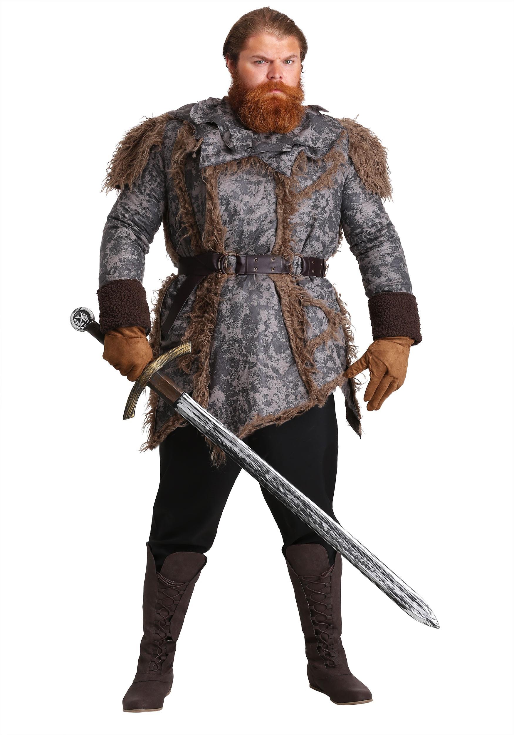 Wild Warrior Costume for Men