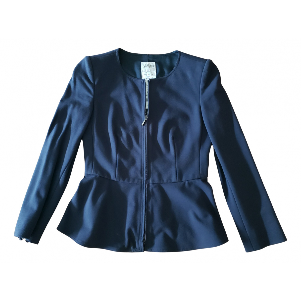 Armani Collezioni N Navy jacket for Women 38 IT