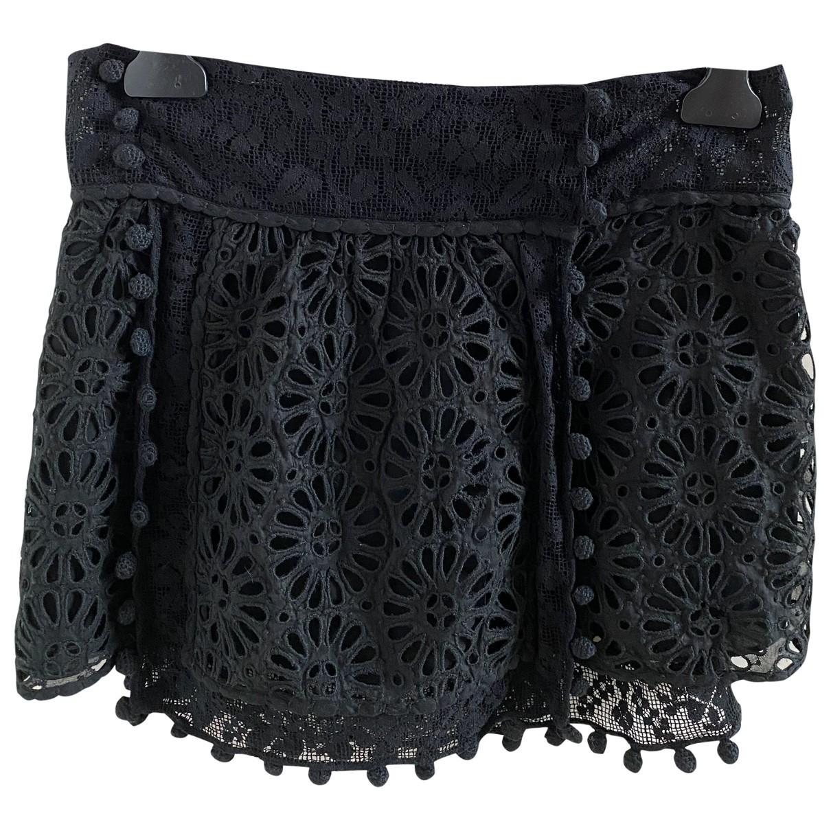 Isabel Marant \N Black Shorts for Women 36 FR