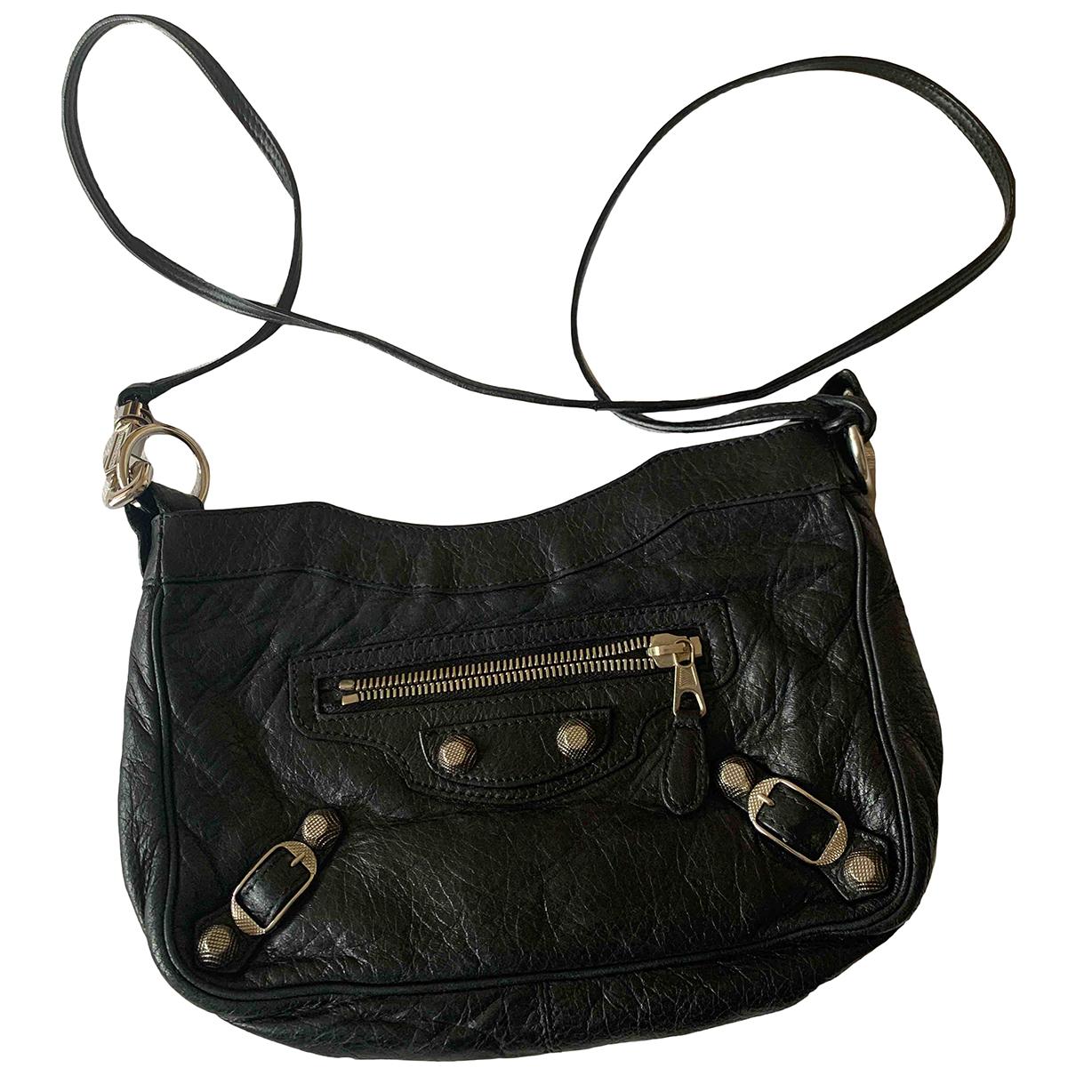 Balenciaga N Black Leather handbag for Women N