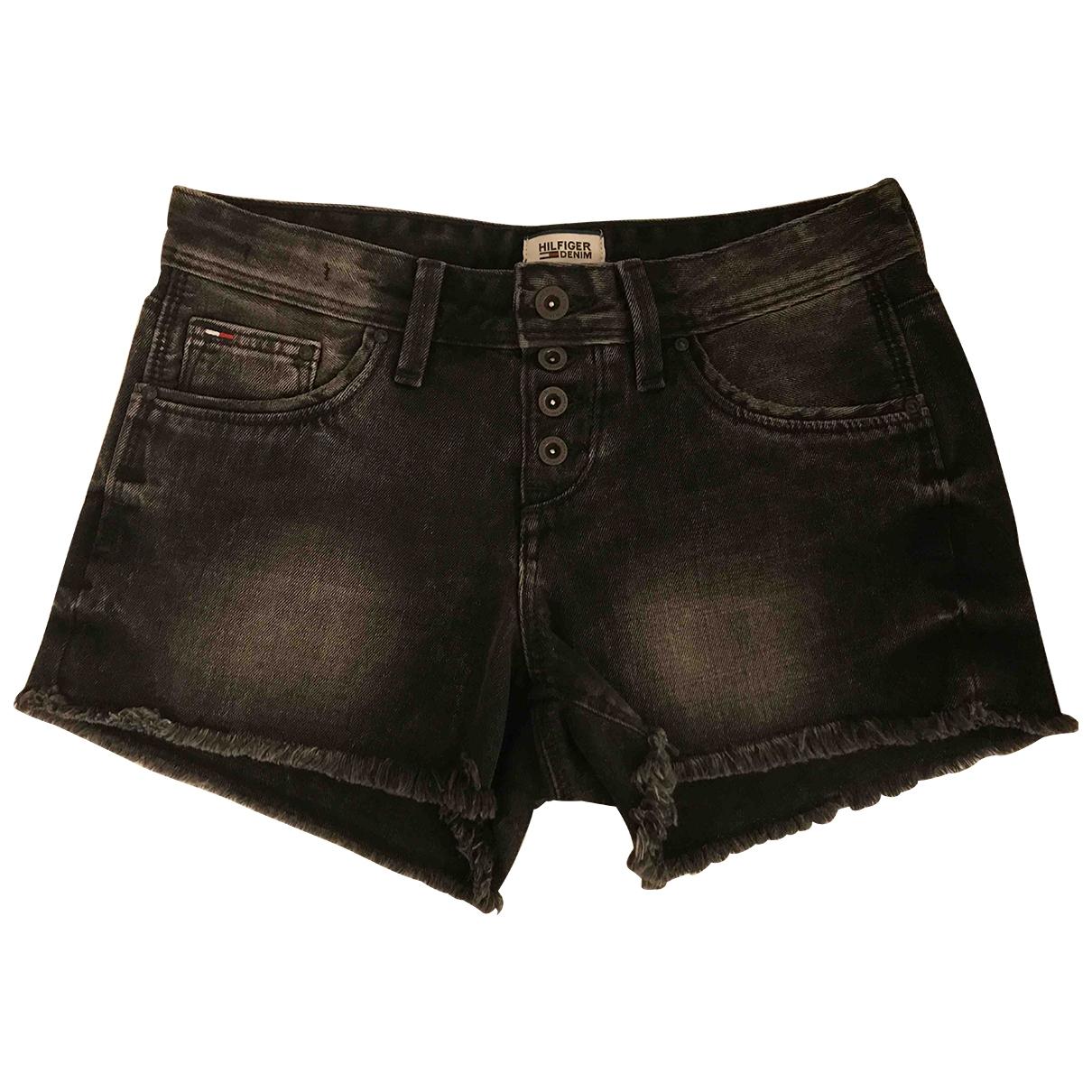 Tommy Jeans \N Black Denim - Jeans Shorts for Women S International
