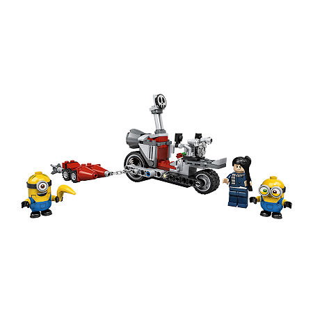 Lego Minions Unstoppable Bike Chase 75549, One Size , No Color Family