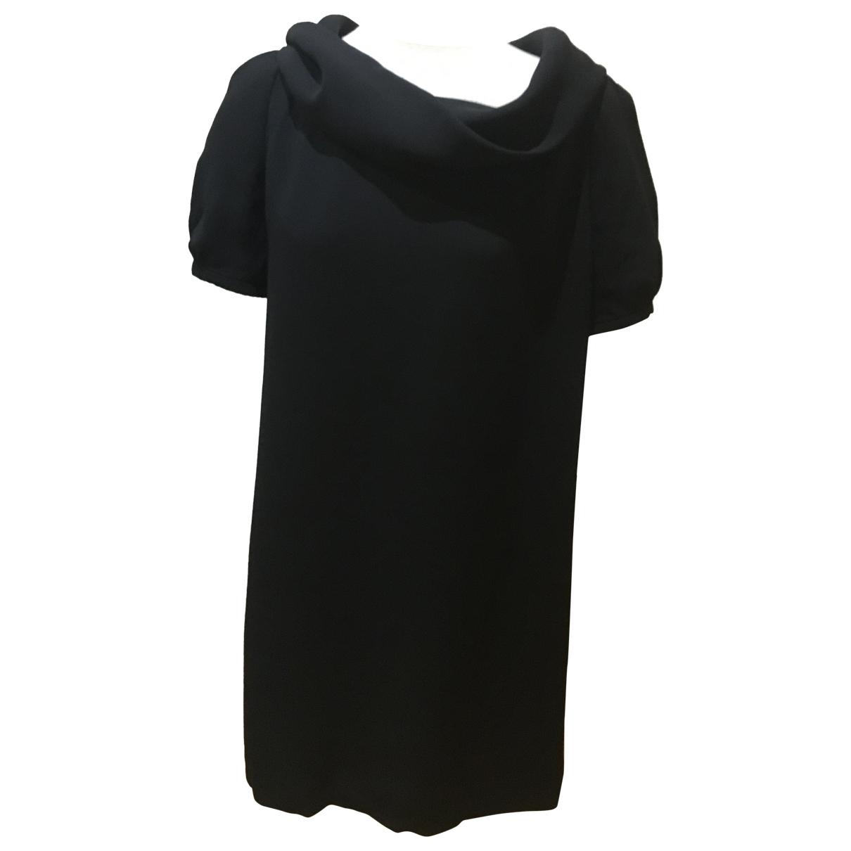 Loewe - Robe   pour femme en soie - noir