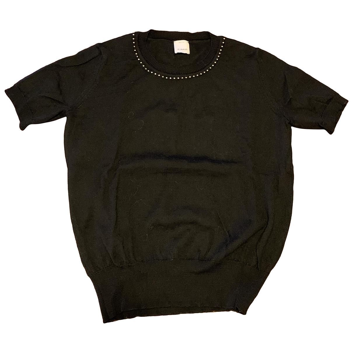 Pinko \N Black Wool Knitwear for Women XS International