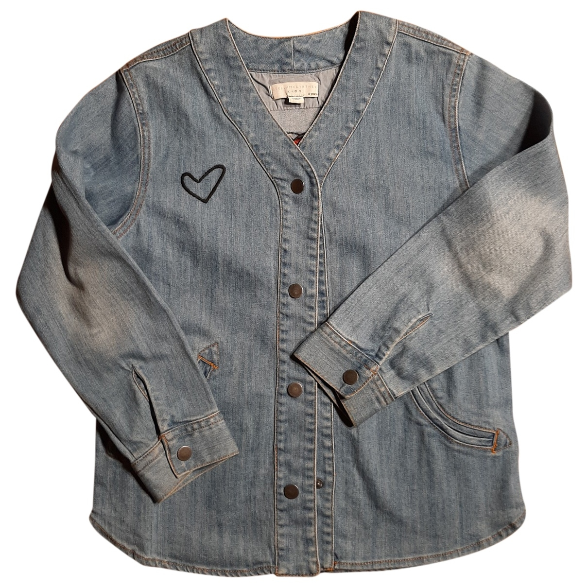 Stella Mccartney Kids \N Jacke, Maentel in  Blau Denim - Jeans
