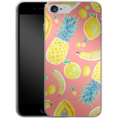 Apple iPhone 6s Plus Silikon Handyhuelle - Fruit Love von Mukta Lata Barua