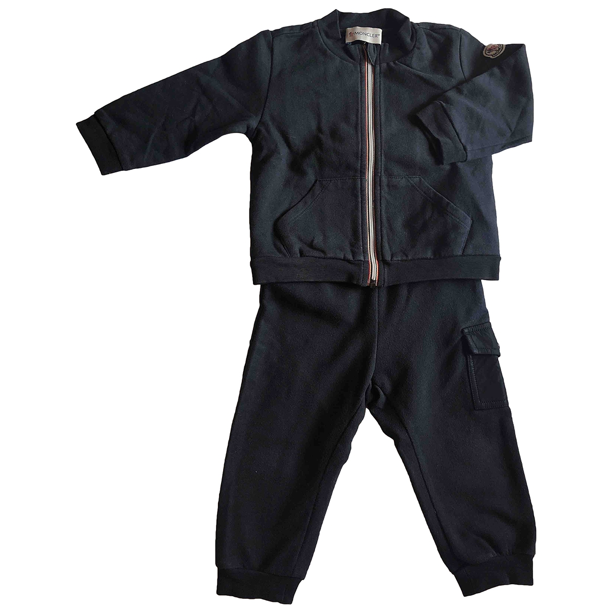 Moncler \N Blue Cotton Outfits for Kids 9 months - up to 71cm FR