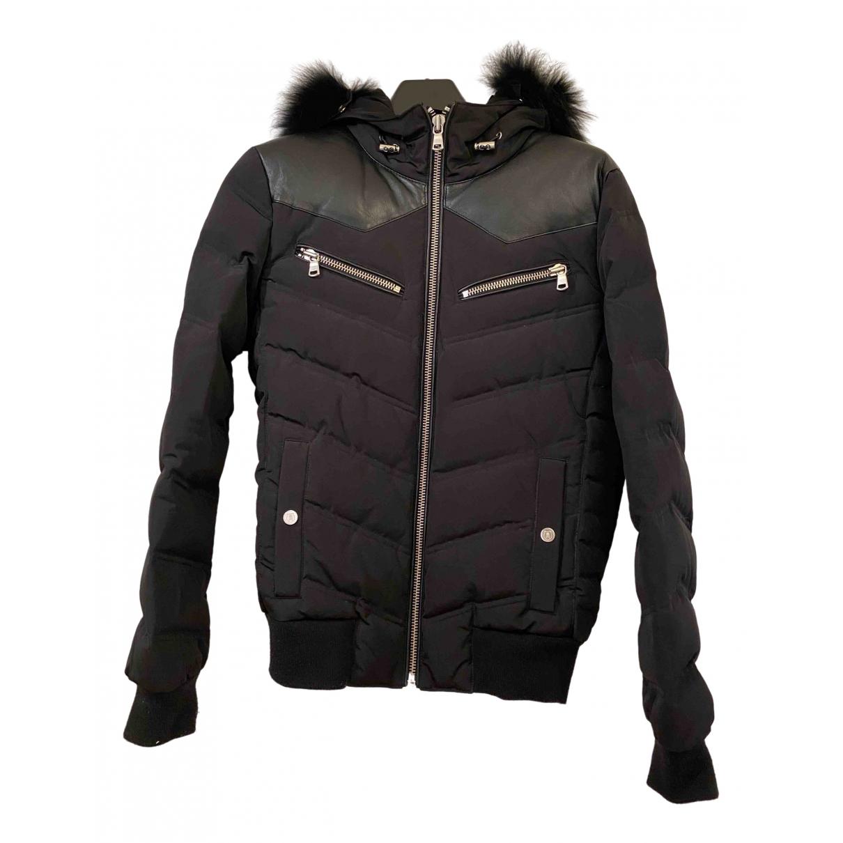 The Kooples - Manteau Fall Winter 2019 pour femme en laine - noir