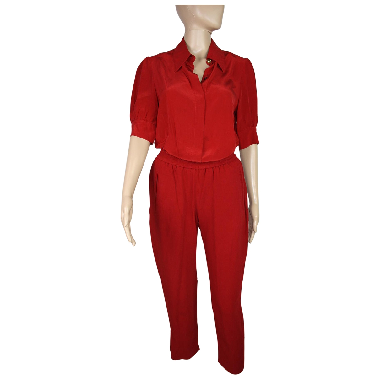 Stella Mccartney \N Red jumpsuit for Women 38 FR