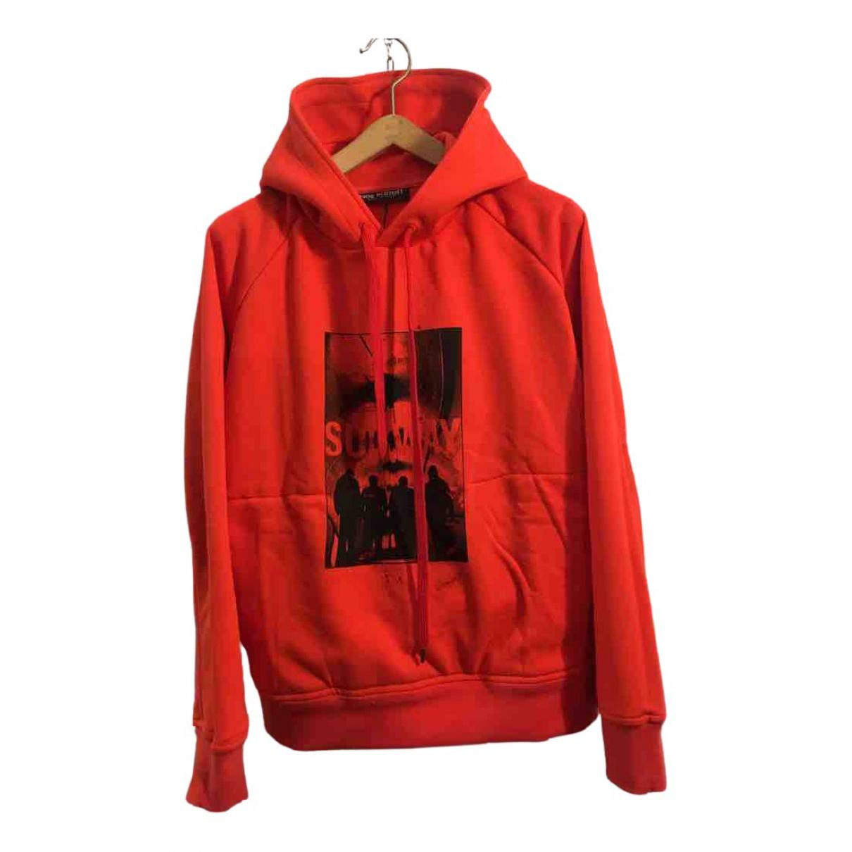 Neil Barrett \N Pullover.Westen.Sweatshirts  in  Rot Baumwolle