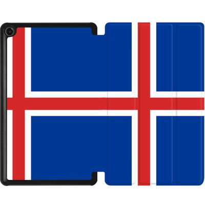 Amazon Fire 7 (2017) Tablet Smart Case - Iceland Flag von caseable Designs