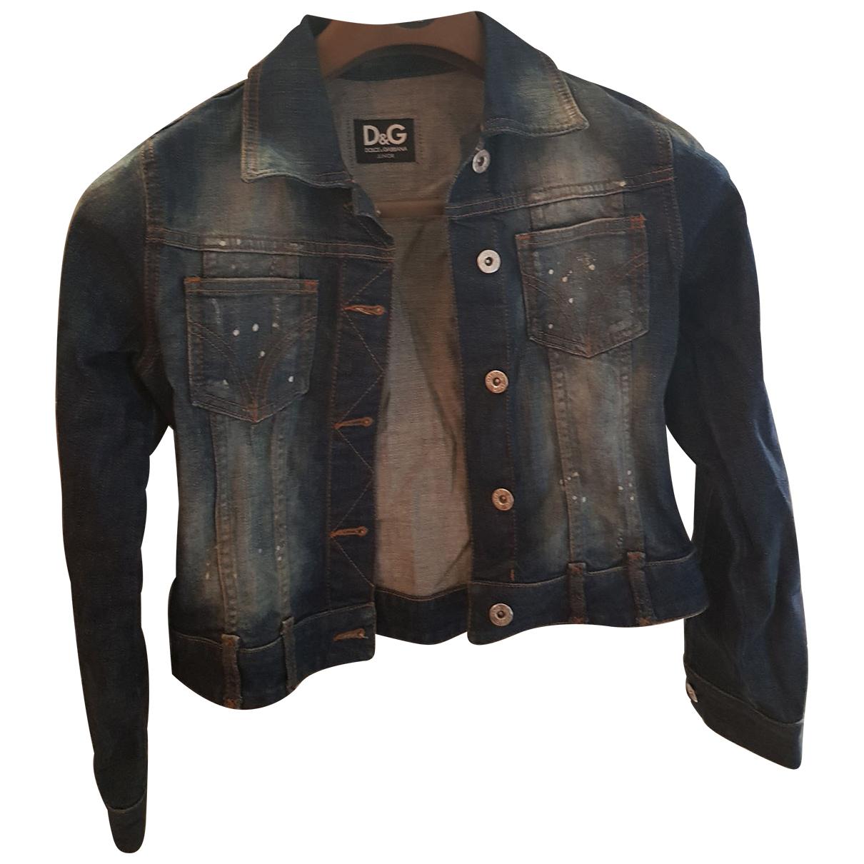 D&g \N Blue Denim - Jeans jacket & coat for Kids 12 years - XS FR
