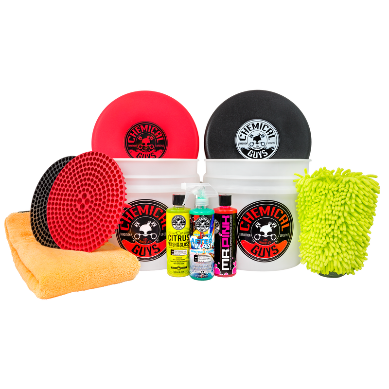 Scratch Free Car Wash And Dry Kit - Chemical Guys