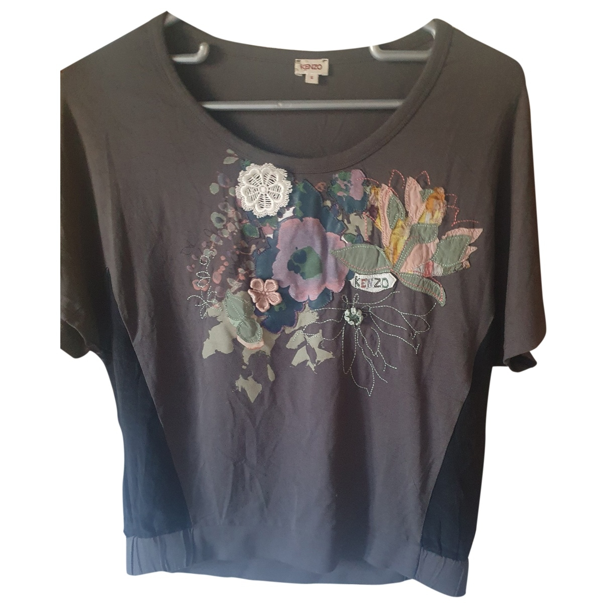 Kenzo \N Grey Cotton  top for Women 36 FR