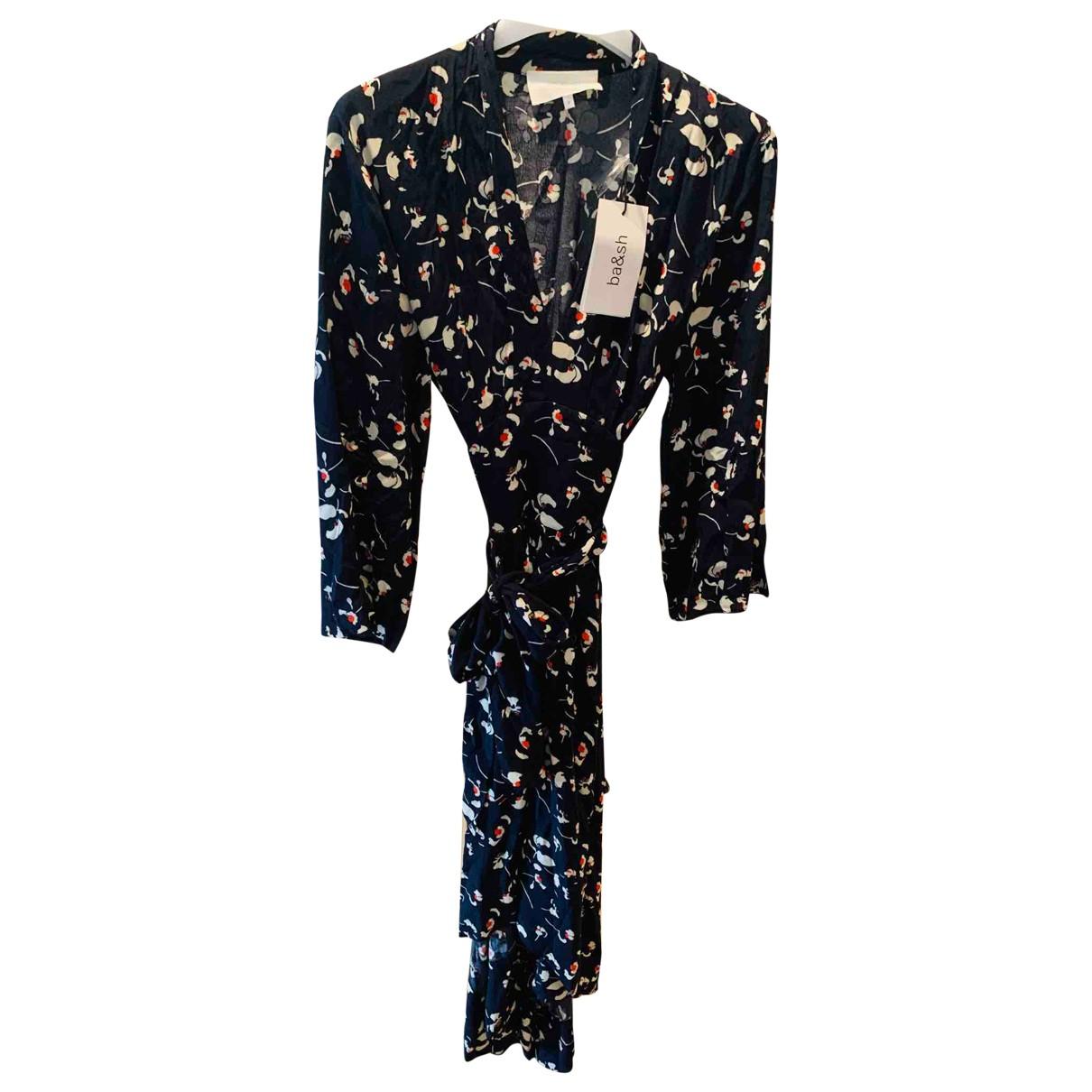 Ba&sh Fall Winter 2019 Blue dress for Women 40 FR