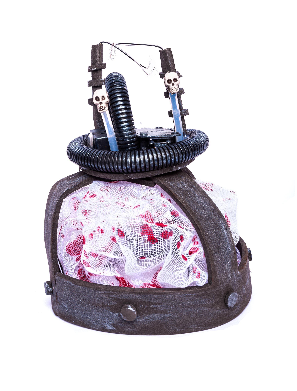 Kostuemzubehor Hut elektrischer Stuhl Farbe: grau