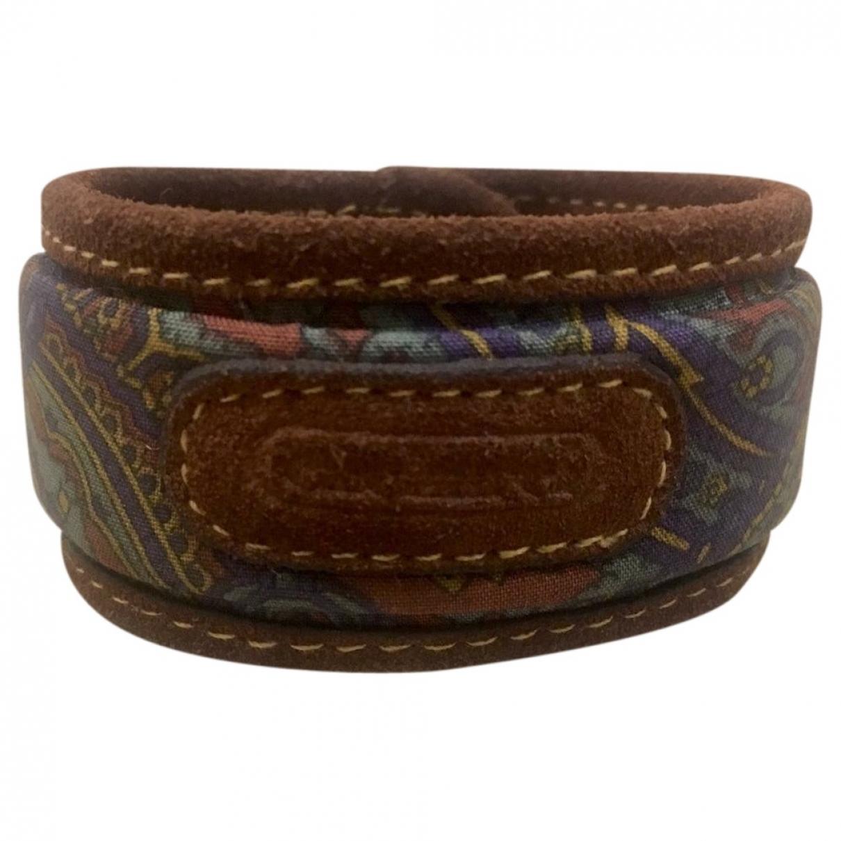 Cacharel - Bracelet   pour femme en cuir - multicolore