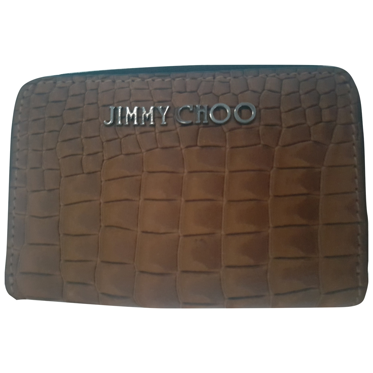 Jimmy Choo \N Kleinlederwaren in  Braun Leder