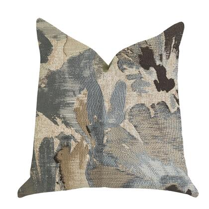 Truffle Collection PBRA1399-2026-DP Double sided  20 x 26 Standard Plutus Icy Blue Wildflower Luxury Throw