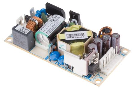 Artesyn Embedded Technologies , 25W Embedded Switch Mode Power Supply SMPS, 5V dc, Open Frame, Medical Approved