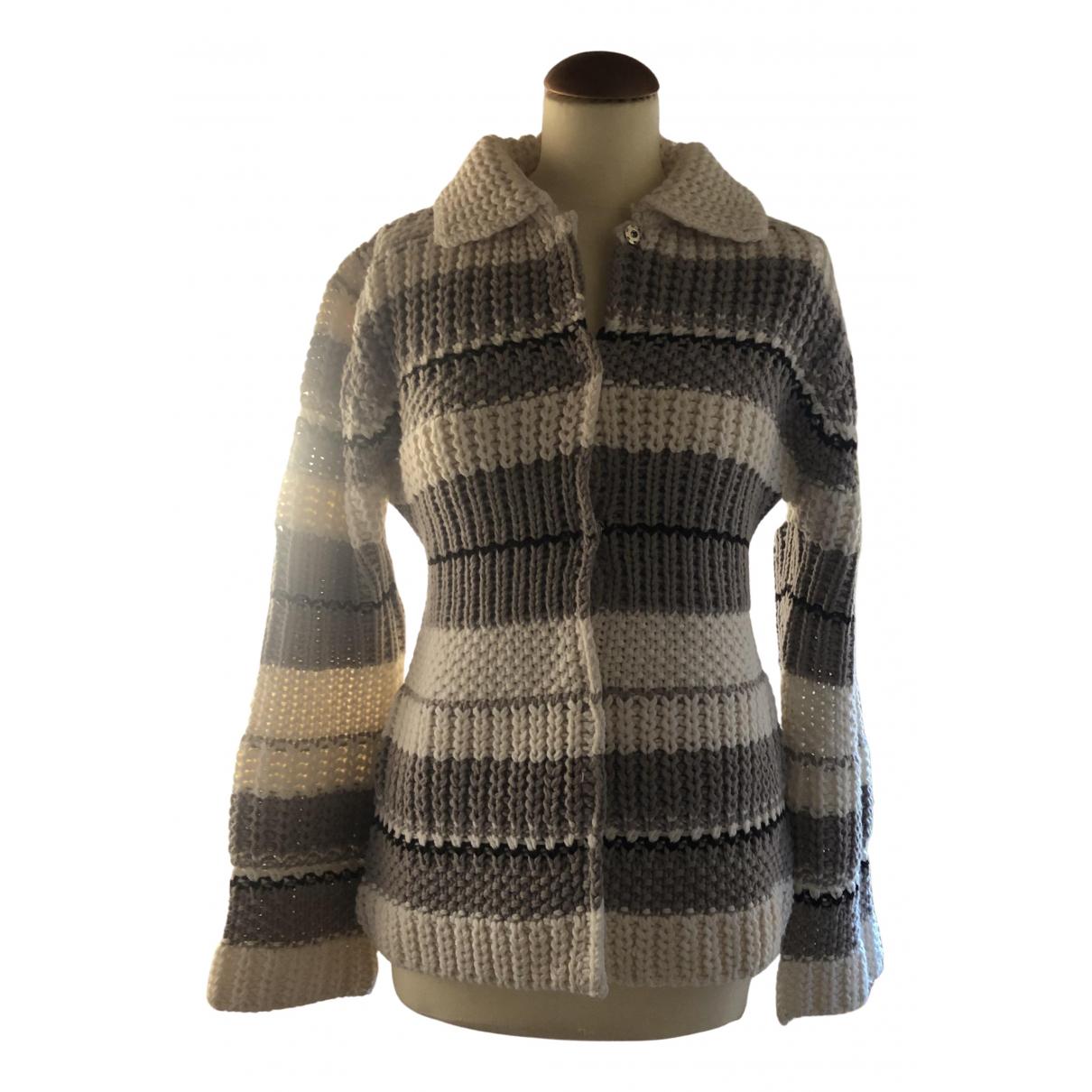 Max & Co - Pull   pour femme en laine - ecru