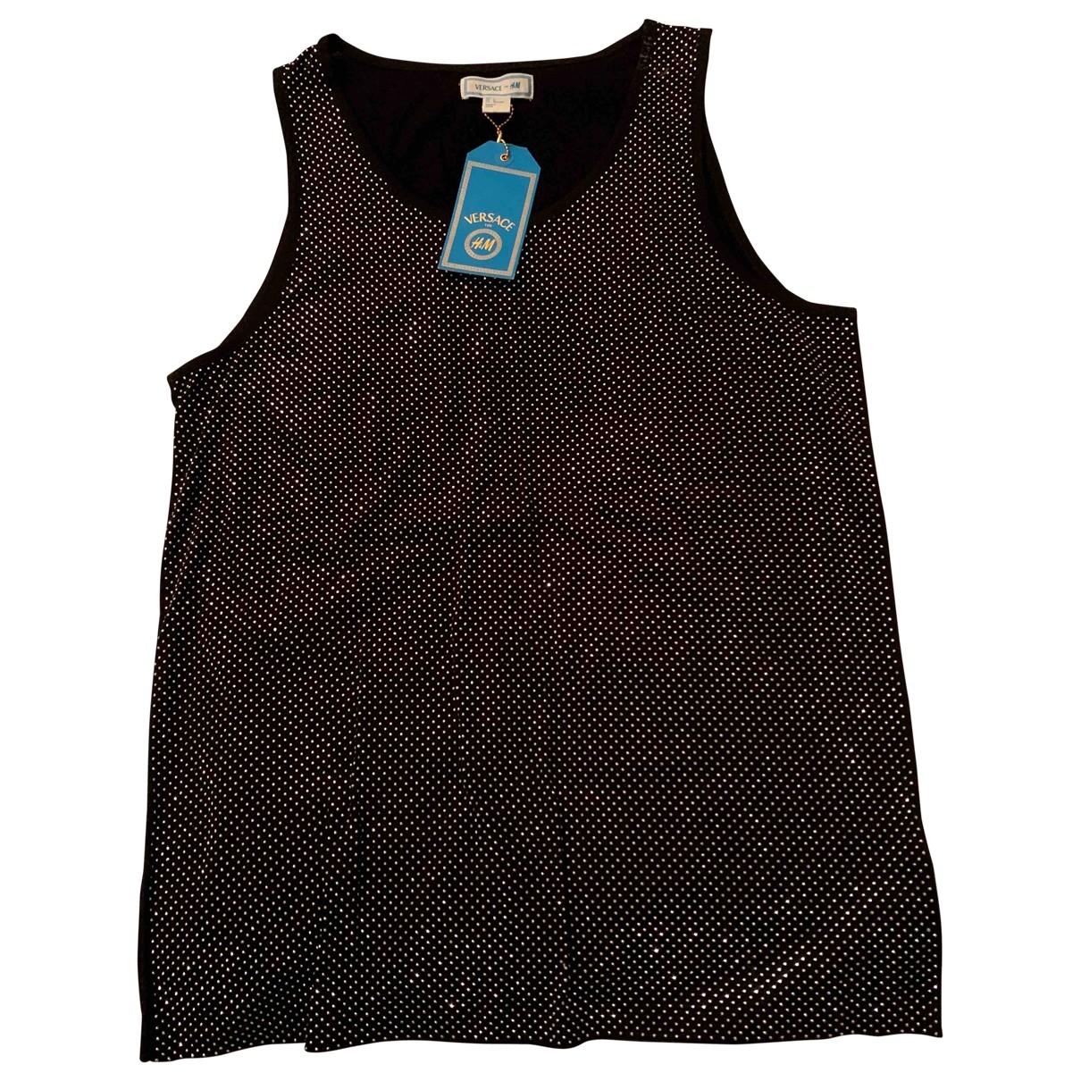 Versace X H&m \N Black Cotton T-shirts for Men L International